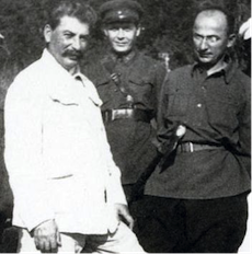 Stalin with Beria