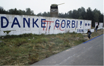 Fall of Berlin Wall, German reunification, Gorbachev