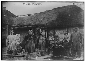 Russian peasants, 1917, Russian Revolution