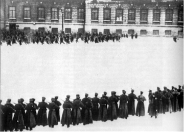 Bloody Sunday massacre, 9 January 1905, 1905 Revolution, St Petersburg, Palace Square