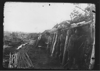First World War, Russian Trenches