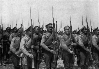 First World War, Russian Army, Russian Infantry