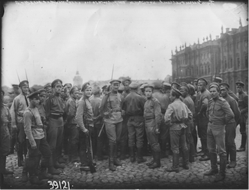 October Revolution 1917, Bolshevik Revolution, Winter Palace, Petrograd