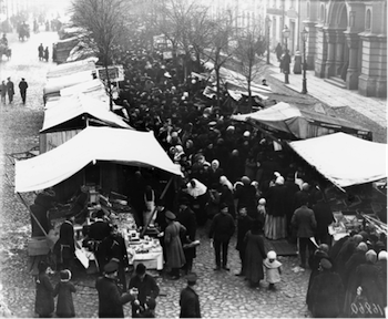 New Economic Policy, NEP, Market, Moscow, 1920s